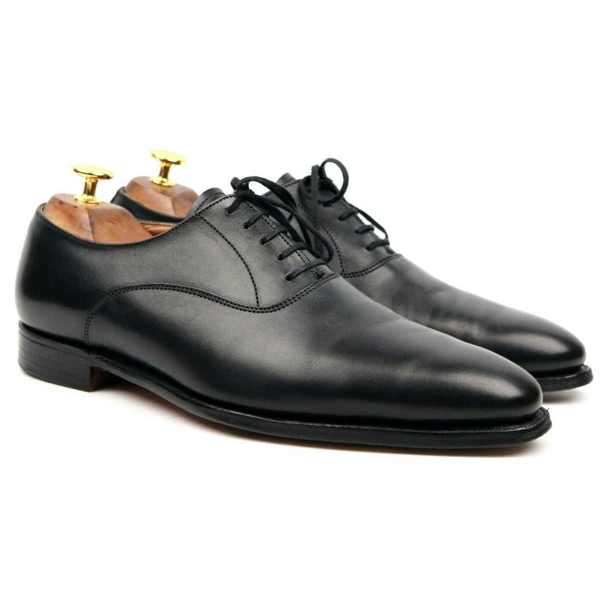 Crockett & Jones 'Wembley' Black Oxford UK 7 E