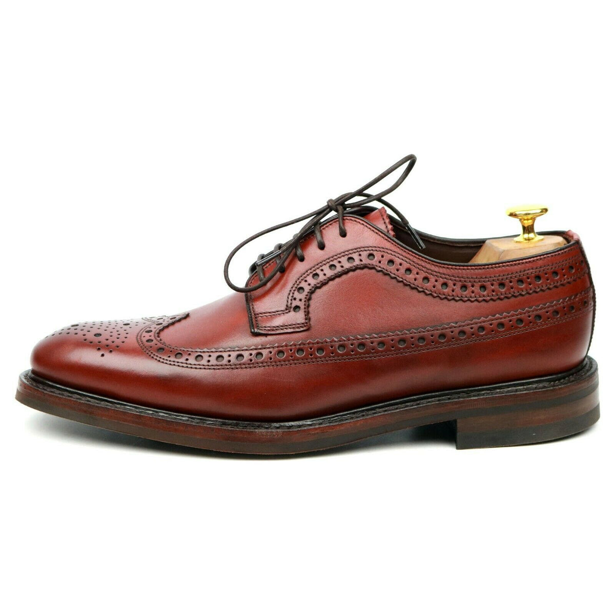Loake 1880 Legacy 'Birkdale' Brown Leather Derby Brogues UK 8 - 11