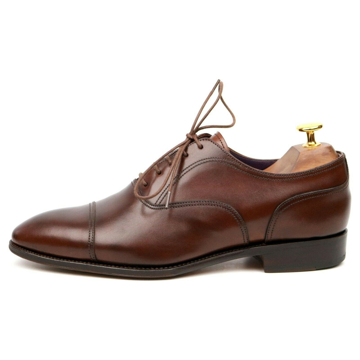 Carmina 80267 Rain Brown Leather Oxford UK 6.5 EE