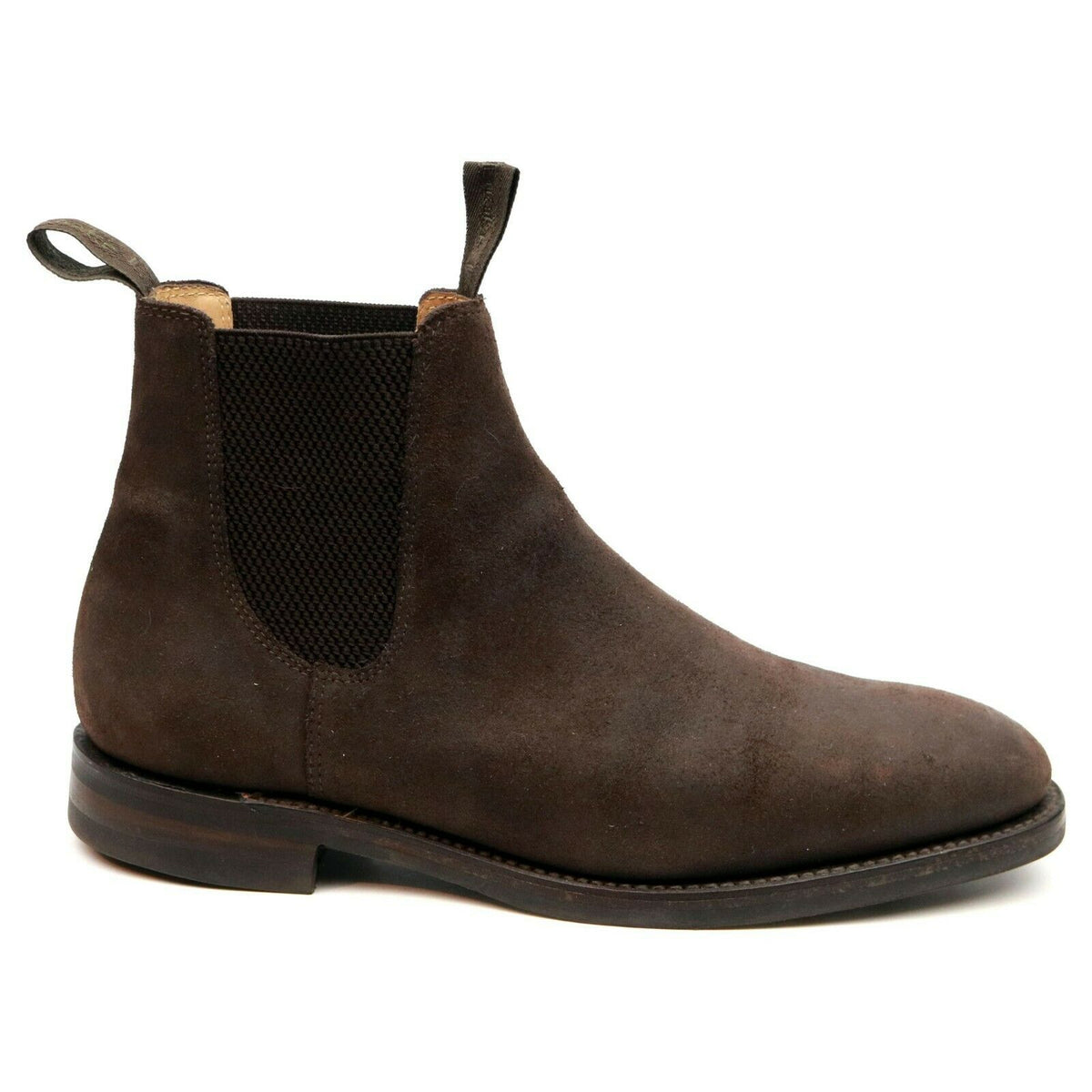 Loake 1880 'Chatsworth' Brown Rough Out Suede Chelsea Boots UK 8 G