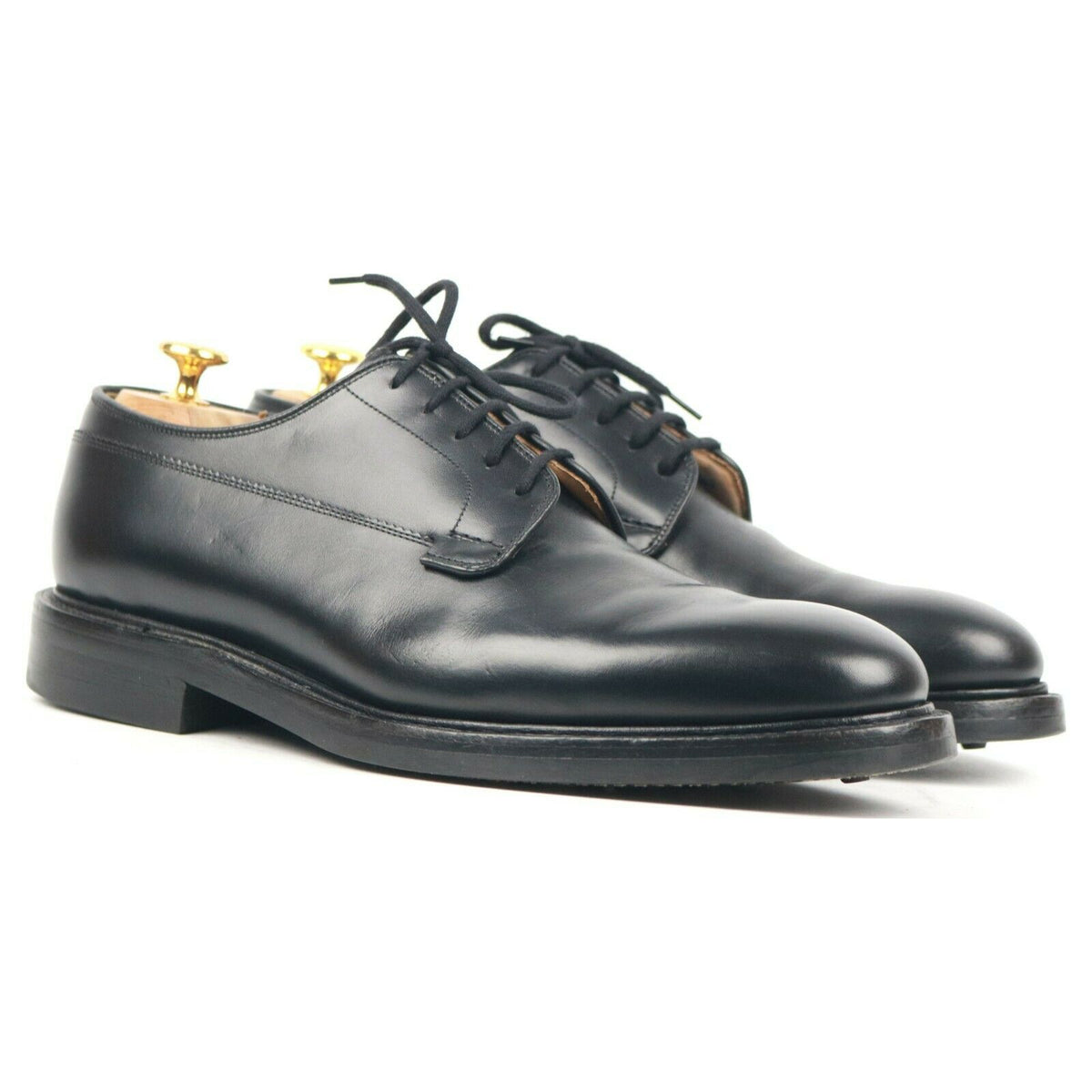 Church's 'Deal R' Black Leather Derby UK 8 F