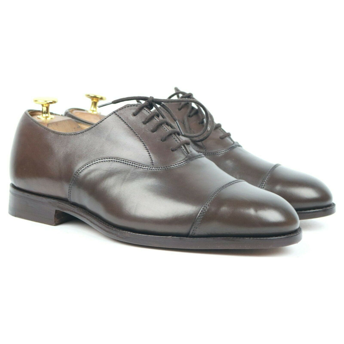 Tricker's 'Henley' Brown Leather Oxford UK 6.5