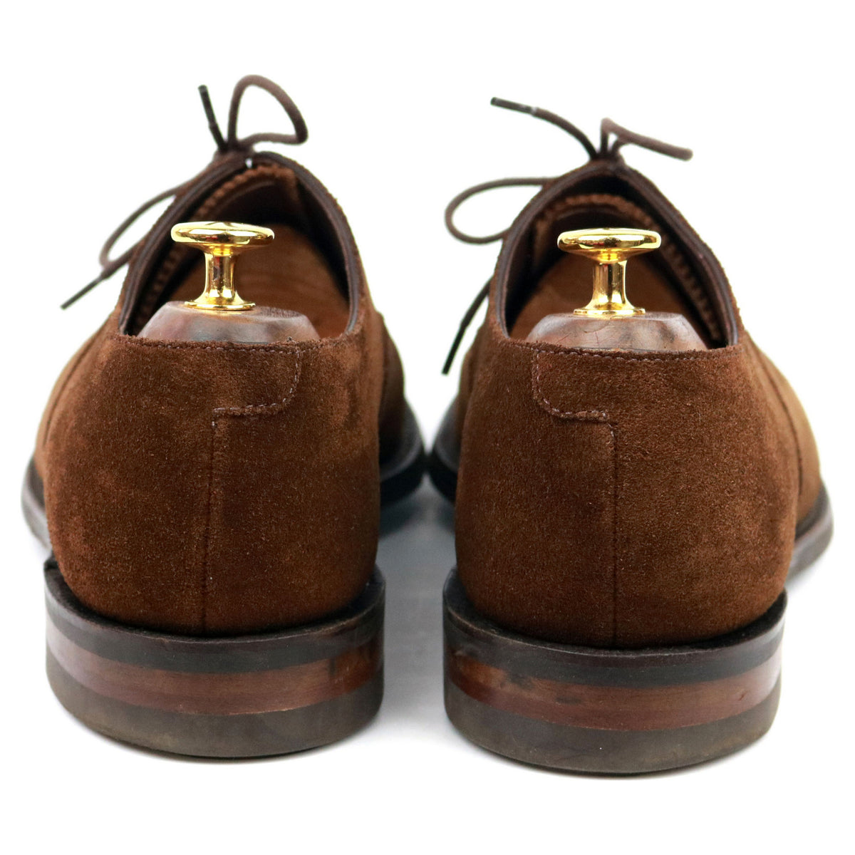 Loake 1880 'Aldwych' Brown Suede Oxford UK 6.5 G