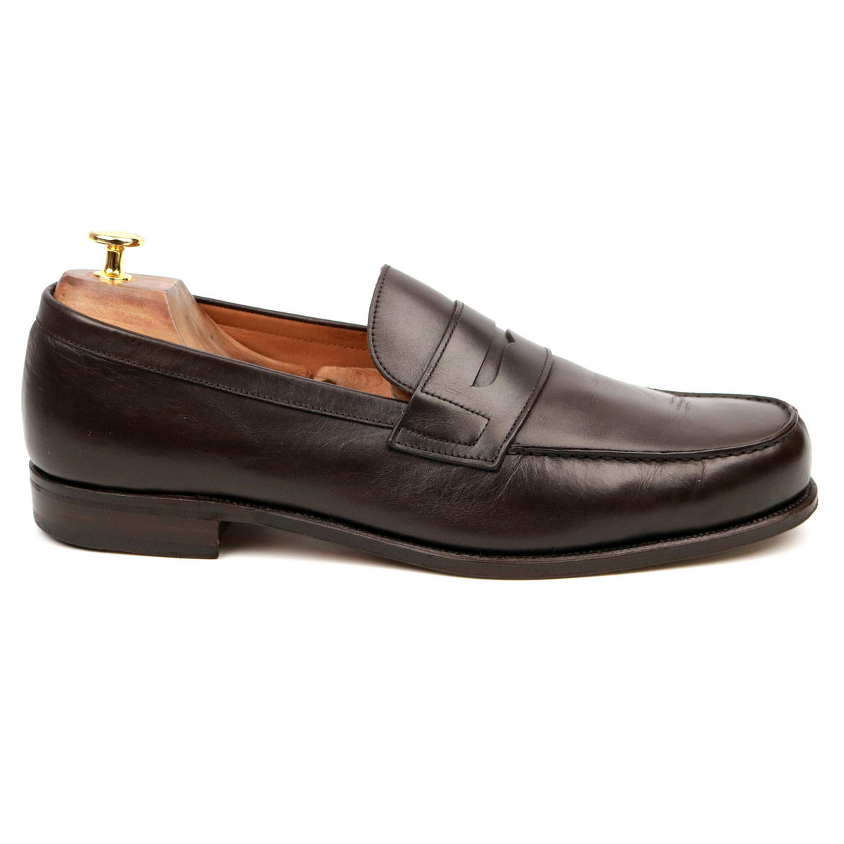 Carmina '80142 Alaro' Brown Leather Loafers UK 11.5 EE