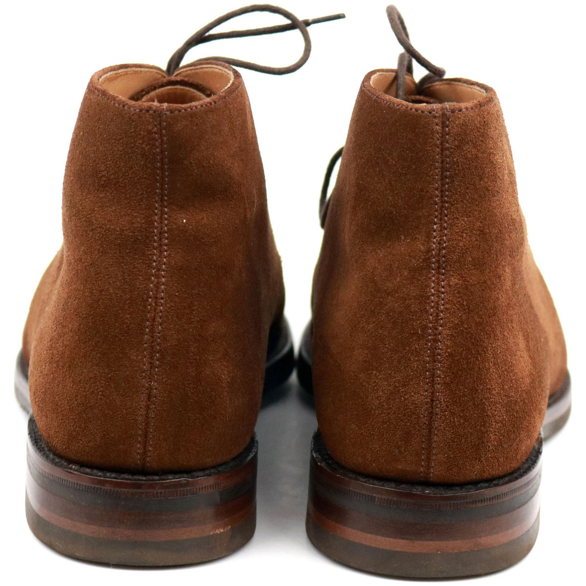 Loake 1880 'Kempton' Brown Suede Chukka Boots UK 9 F