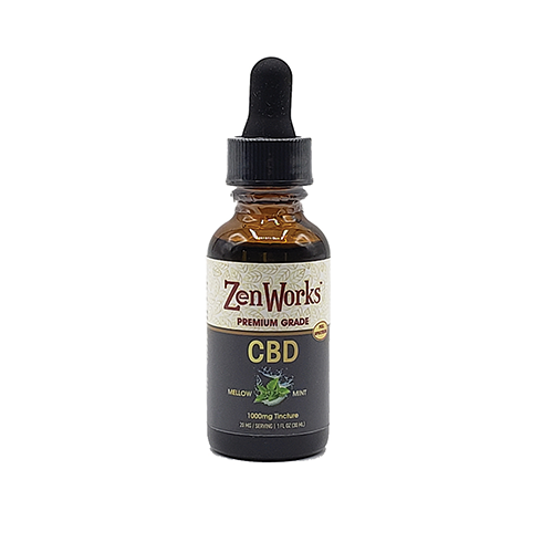 CBD Oil Tinctures, Mellow Mint