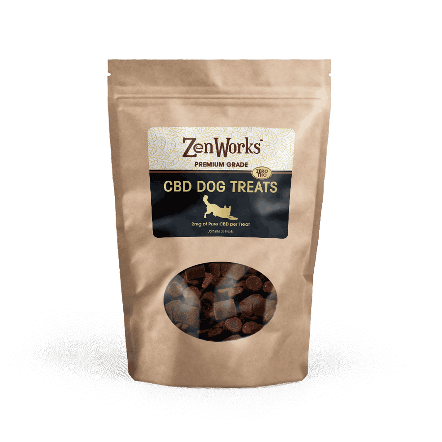 ZenWorks CBD Dog Treats