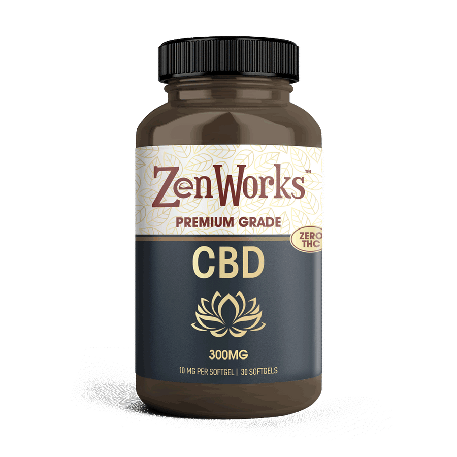 ZenWorks CBD Softgels 10mg