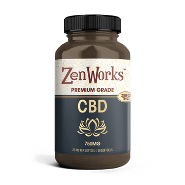 ZenWorks Softgels 25mg