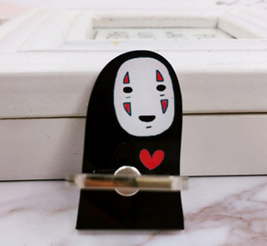 No Face Anime Phone Holder