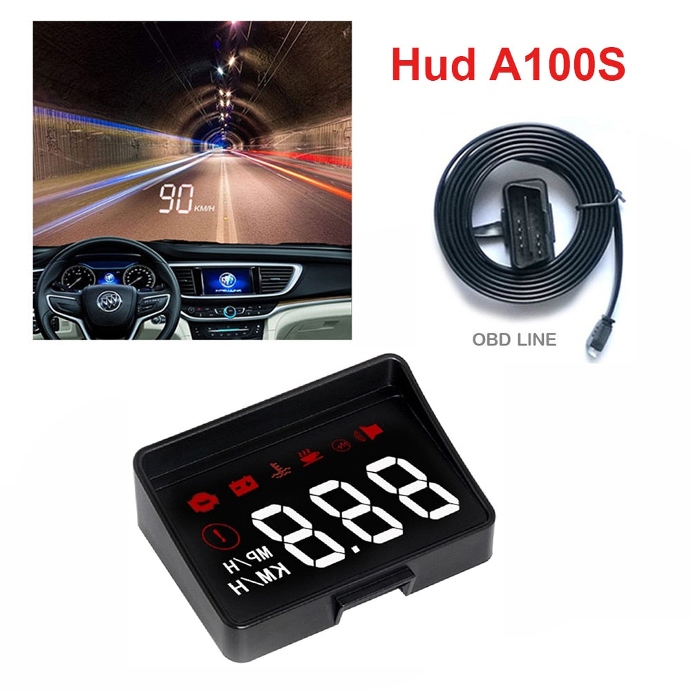 A100S Car HUD Head Up Display