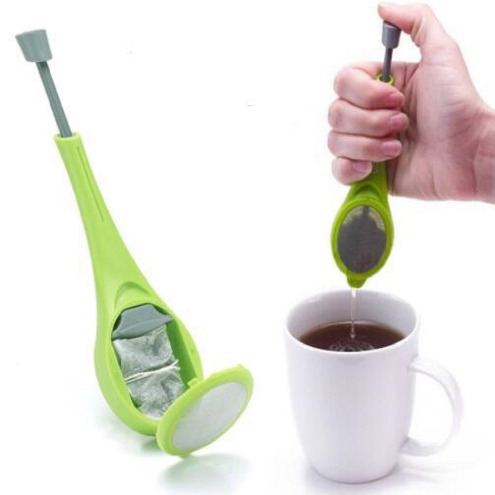 Silicone Tea Infuser & Built-In Strainer