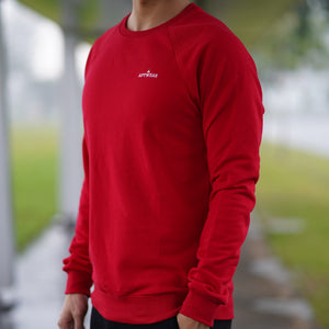 Statement Sweatshirt (Red)