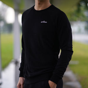 Statement Sweatshirt (Black)