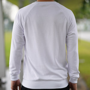 Statement Sweatshirt (White)