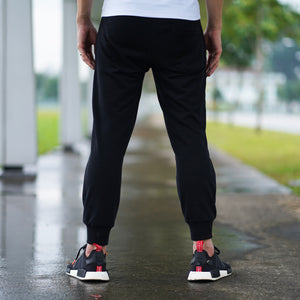 Statement Joggers (Black)
