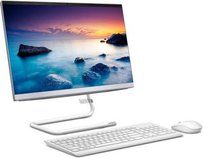 lenovo Ideacentre Core i3 (10th Gen) (8 GB DDR4/1 TB/Windows 10 Home/21.5 Inch Screen/Ideacentre A340-22IWL) with MS Office  (Foggy White, 185 mm x 490.5 mm x 418.88 mm, 5.8 kg)