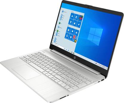 HP 15s Core i3 10th Gen - (4 GB/512 GB SSD/Windows 10 Home) 15s-fr1004tu Thin and Light Laptop  (15.6 inch, Natural Silver, 1.69 kg, With MS Office)