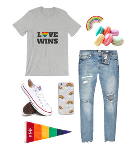 Love Wins. Pride T-Shirt (Unisex)