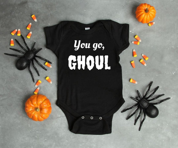 You Go Ghoul One Baby Piece Outfit Bodysuit