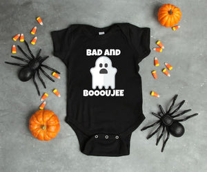 Bad and Boojee One Piece Baby Outfit Bodysuit