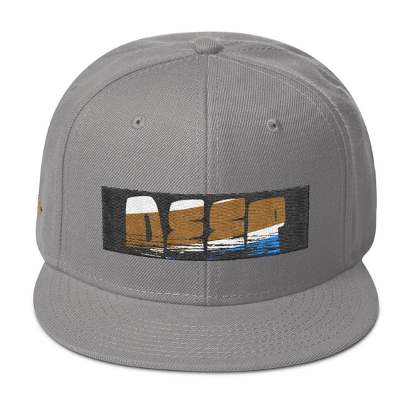 DEEP IN GOLD SNAPBACK - Deepenough Clothing Company