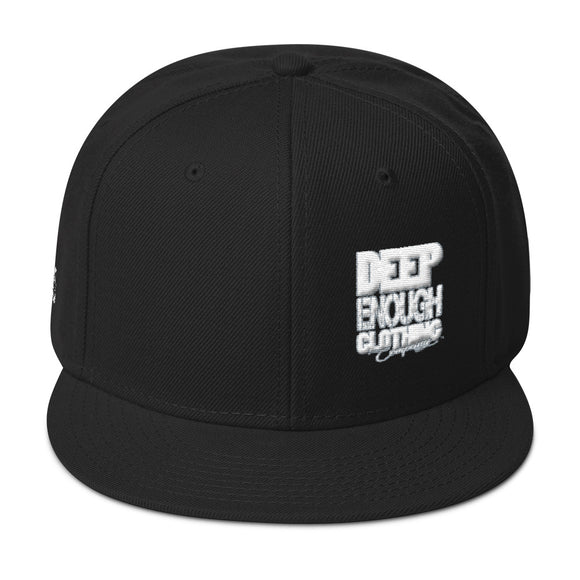 CITY BLOCK WHITEOUT snapback - Deepenough Clothing Company