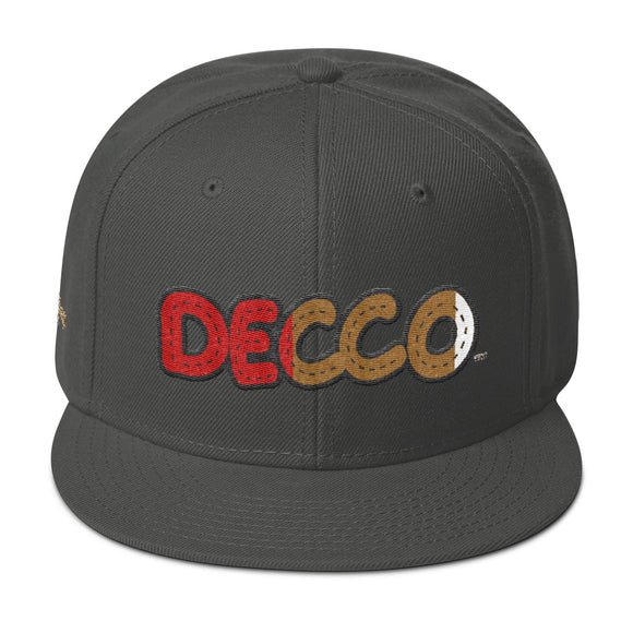 DECCO RED Snapback - Deepenough Clothing Company