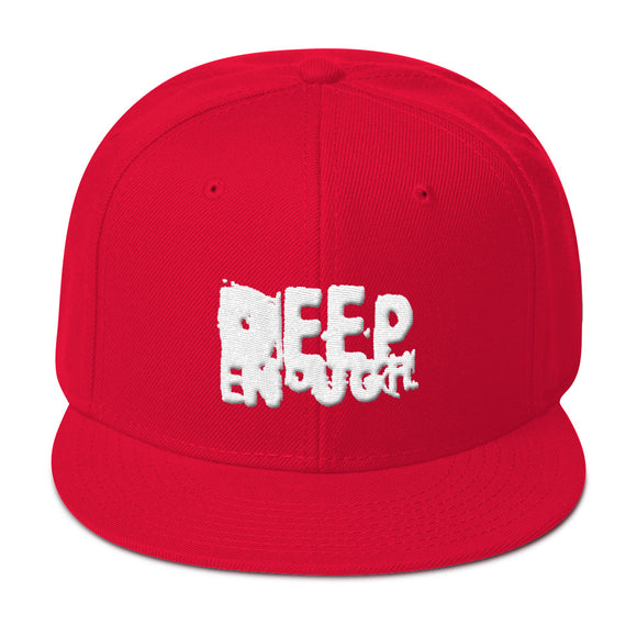 POLAR WHITEout SnapBack - Deepenough Clothing Company