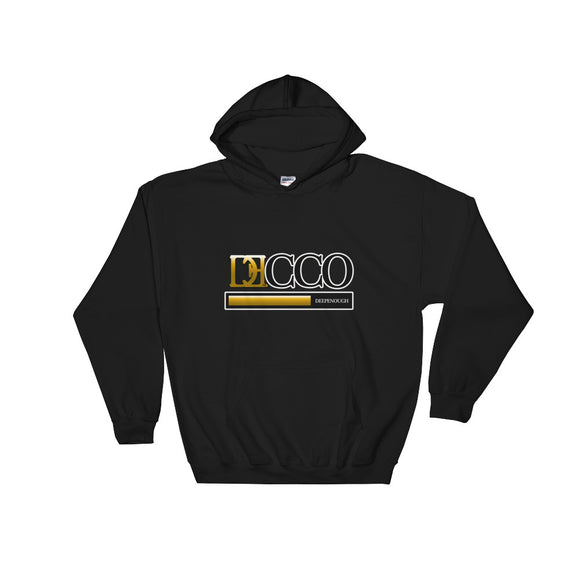 DESIGNER GOLD HOODIE - Deepenough Clothing Company