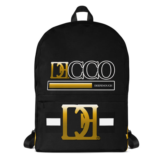 DESIGNER LABEL LOGO BLACK - Deepenough Clothing Company