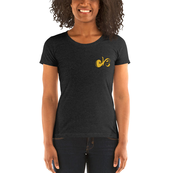 GOLD LOGO TEE - Deepenough Clothing Company