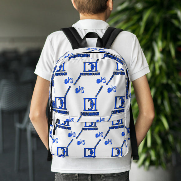 Designer label backpack - B_BOY BERRY - Deepenough Clothing Company