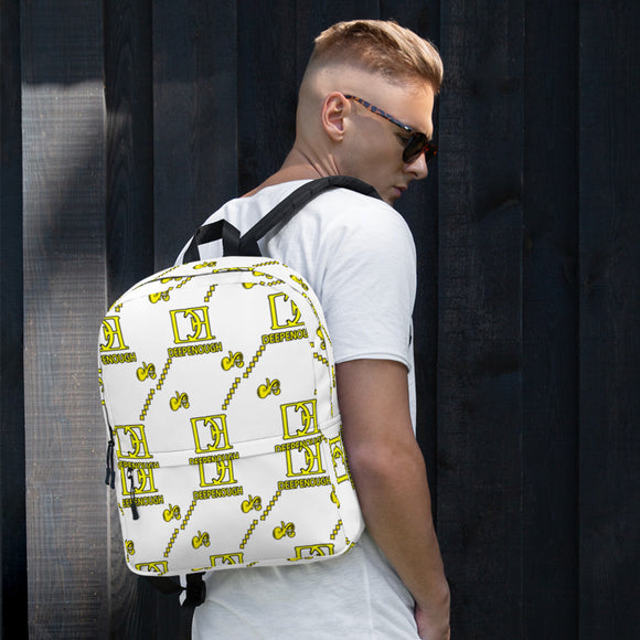 Designer label backpack - LEMONADE - Deepenough Clothing Company