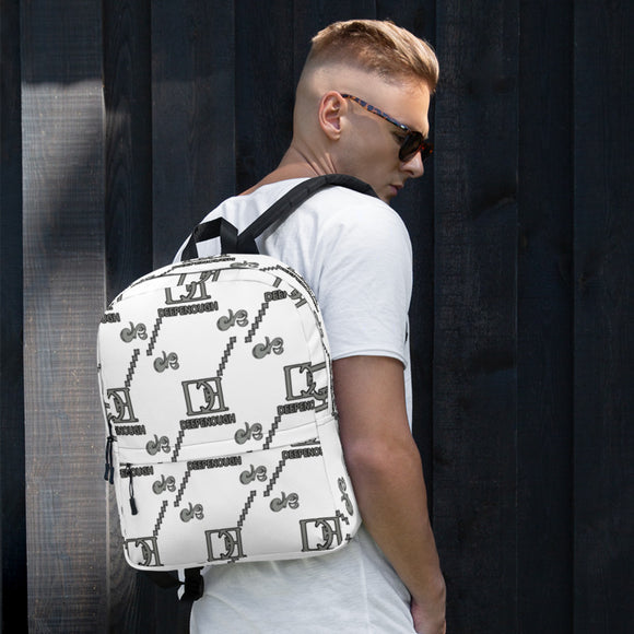 Designer label backpack - shhmoke - Deepenough Clothing Company