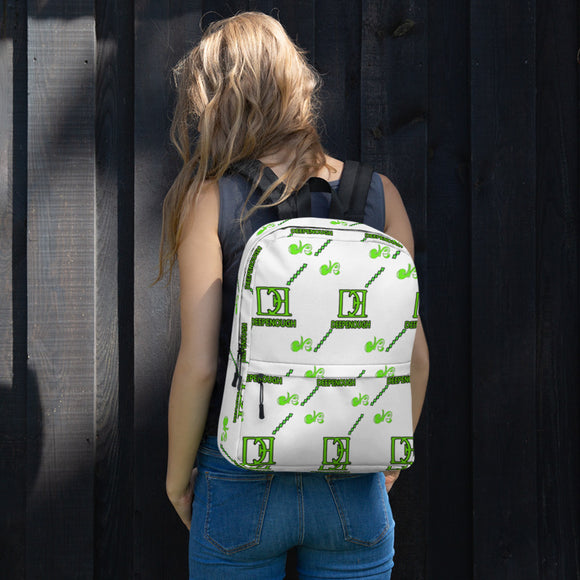 Designer label backpack - LIMEARIZA - Deepenough Clothing Company