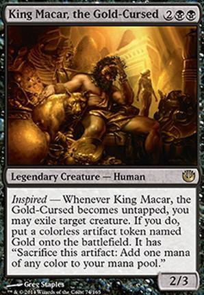 Commanding Respect: King Macar, the Gold-Cursed   FlipSide