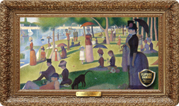 A Sunday Afternoon on the Island of La Grande Jatte (1884) Playmat - Georges Seurat Flipside Masterpiece Collection