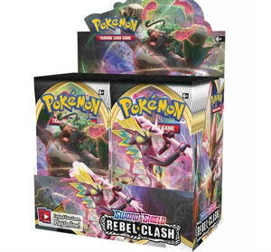 Curbside - Pokemon Rebel Clash Booster Box *Presale*