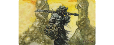 Dakkon Blackblade Playmat - Richard Kane Ferguson Flipside Exclusive