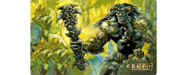 Sol'kanar the Swamp King Playmat - Richard Kane Ferguson Flipside Exclusive