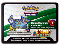 Pokemon TCG Online Roaring Skies Booster Pack Code