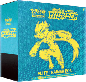 Pokemon TCG Sun & Moon Lost Thunder Elite Trainer Kit