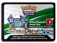Pokemon TCG Online Sun and Moon Base Booster Pack Code