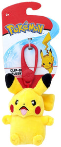 Pikachu Clip-On Pokemon Plush