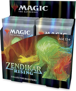*Curbside* Zendikar Rising Collector Booster Box