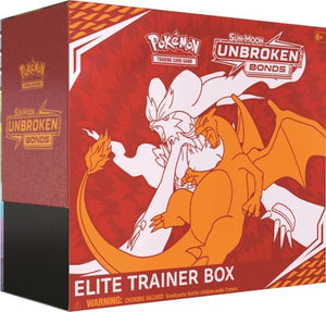 Pokemon TCG Sun & Moon Unbroken Bonds Elite Trainer Kit