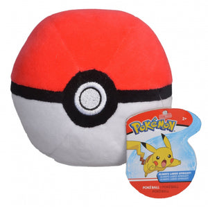 "4"" Poke Ball Pokemon Plush"