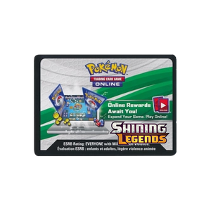 Pokemon TCG Online Shining Legends Booster Pack Code