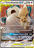 Eevee and Snorlax-GX (120)